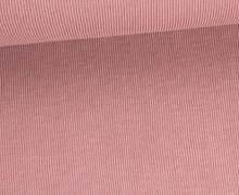 Fashionstoff - Modal - Rippenoptik - Uni - Altrosa