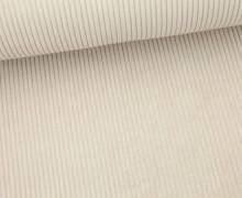 Cord mit breiter Struktur - Breitcord - Sand