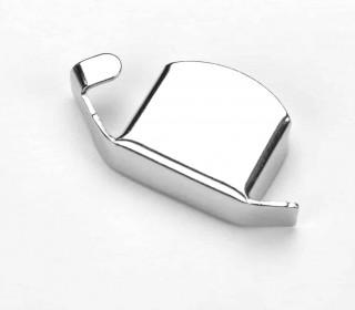 1 Magnetlineal - Kantenlineal - 2,5cm x 5cm - Silber