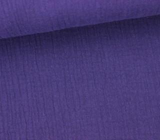 Musselin - Muslin - Double Gauze - Uni - Violett