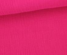 Musselin- Muslin – Double Gauze – Uni – Pink