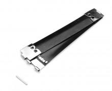 1 Federverschluss - Schnappverschluss - 10cm - Metall