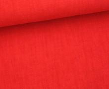 Leinen - gewaschen - Waschleinen - Rot