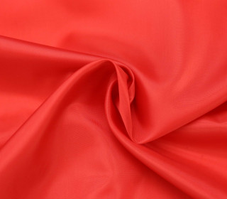 Futterstoff - Bremsilk - Polyester - Rot