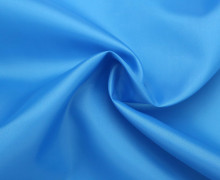 Futterstoff - Bremsilk - Polyester - Cyanblau