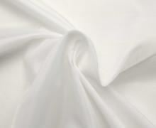 Futterstoff - Bremsilk - Polyester - Weiß