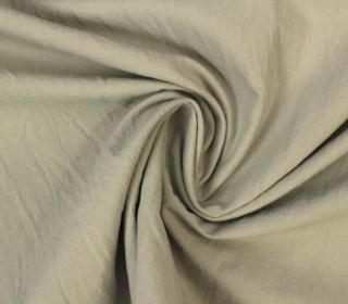 Stoff - Crinkle - Uni - Sand