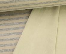 Alpenfleece - Streifen - Stripes - Meliert - Beige