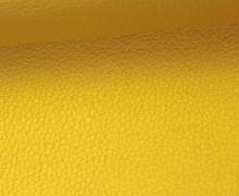 Kunstleder - Fashionstoff - Nappa - 140cm - Gold Brilliant
