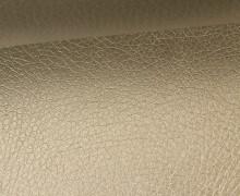 Kunstleder - Fashionstoff - Nappa - 140cm - Silbergold Metallic
