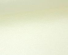 Kunstleder - Fashionstoff - Nappa - 140cm - Elfenbein