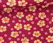 Stoff - Flower Girl - Washington Depot - Denyse Schmidt - Bordeaux