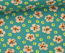 Stoff - Flower Girl - Washington Depot - Denyse Schmidt - Grün