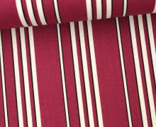 Stoff - Shadow Stripe - Washington Depot - Denyse Schmidt - Bordeaux