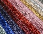 Fashionstoff - Pailletten - Glänzend - Elastisch - Rot