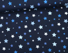 Jersey - Sweet Stars - Sterne - Nachtblau