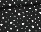 Jersey - Sweet Stars - Sterne - Schwarz
