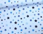 Jersey - Sweet Stars - Sterne - Hellblau