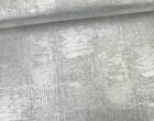 Fashionstoff - Strickstoff - Glänzend - Elastisch - Silber/Hellgrau