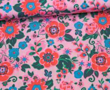 Stoff - Blumen - Grand Bouquet - Amy Butler - Flieder