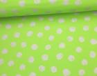 Softshell - Fleece - Kleckse - Magic Reflection - Apfelgrün