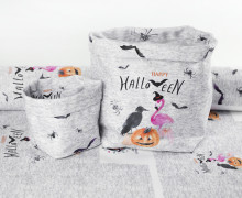 DIY-SET - NÄHSET - Utensilo - Happy Trick or Treating - Halloween - abby and me