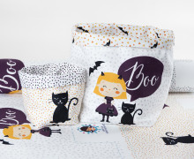 DIY-SET - NÄHSET - Utensilo - Boo Girl - Halloween - abby and me
