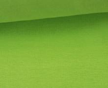 Glattes Bündchen - Uni - Schlauchware - Maigrün