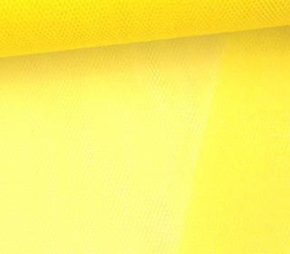 Fester Tüllstoff - 140cm - Gelb
