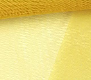 Fester Tüllstoff - 140cm - Senfgelb