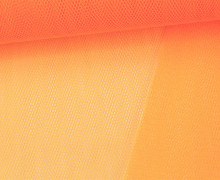 Fester Tüllstoff - 140cm - Neonorange