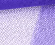 Fester Tüllstoff - 140cm - Blaulila