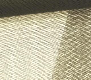 Tüllstoff - Nylon - 145 cm - Grüngrau