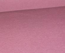 Glattes Bündchen - Uni - Schlauchware - Altrosa Dunkel