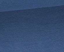 Glattes Bündchen - Uni - Schlauchware - Taubenblau