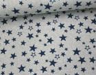 Jacquard - Glitzer - Sterne - Stars - Grau