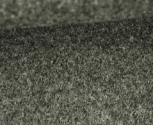 Wolle - Walkstoff - Warmgrau Meliert