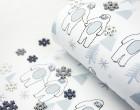 Sommersweat - Yeti - Weihnachten - weiß - Andrea Lauren - abby and me