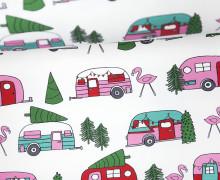 Sommersweat - XMasCamper - Weihnachten - weiß - Andrea Lauren - abby and me