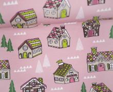 Sommersweat - Gingerbread - Weihnachten - rosa - Andrea Lauren - abby and me