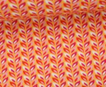 Sommersweat - Buntes Laub - Farbenzauber - Bine Brändle - Orange