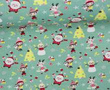 Sommersweat - a Jolly Christmas Party - Weihnachten - Grün - Miriam Bos
