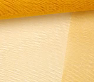 Fester Tüllstoff - 150cm - Senfgelb