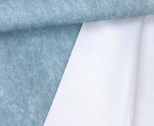 Jackenstoff - Outdoorstoff - Glänzend - Meliert - Uni - Wasserdicht - Hellblau