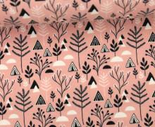 Jersey - Pflanzen - Dreiecke - Plants - Triangles - Rosa