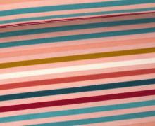 Jersey - Streifen - Stripes - Bunt - Rosa