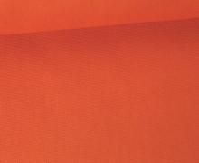 Canvas Stoff - feste Baumwolle - Uni - 145cm - Rostorange