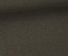 Canvas Stoff - feste Baumwolle - Uni - 145cm - Schwarzbraun