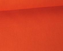 Canvas Stoff - feste Baumwolle - Uni - 145cm - Rotorange