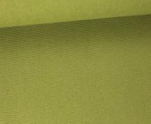 Canvas Stoff - feste Baumwolle - Uni - 145cm - Schilfgrün